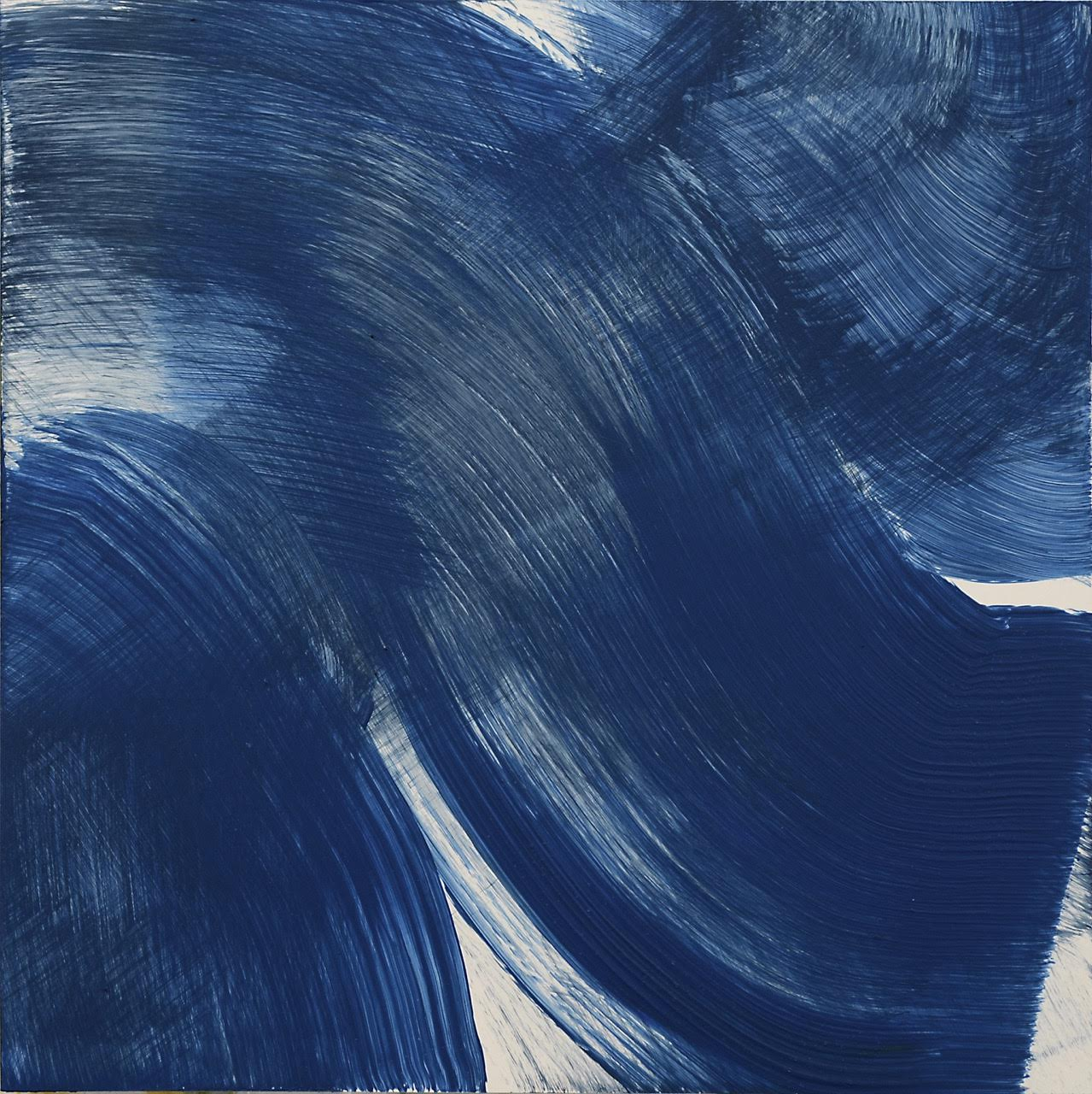 Avy's blue painting