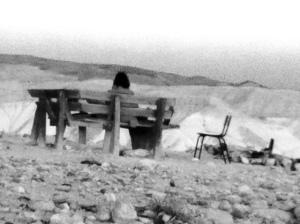 merav desert black and white
